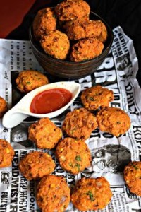 adai lentils and green peas--fritters-indian-recipes